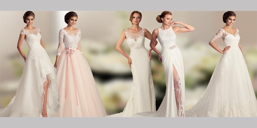 Die neuen Brautkleider sind da! Brautmodetrends für 2017