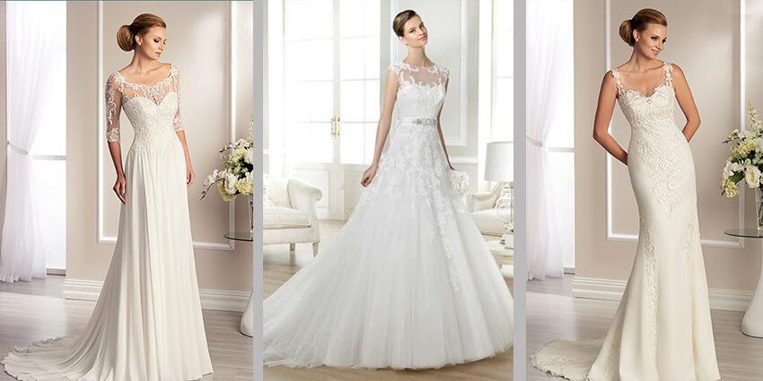 Romantische Brautkleider Bei Brautparadies Rosenheim