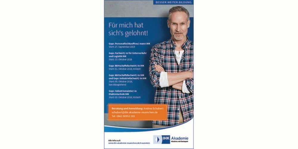 Mit Der Ihk Karriere Machen Neue Infoabende Für Traunstein